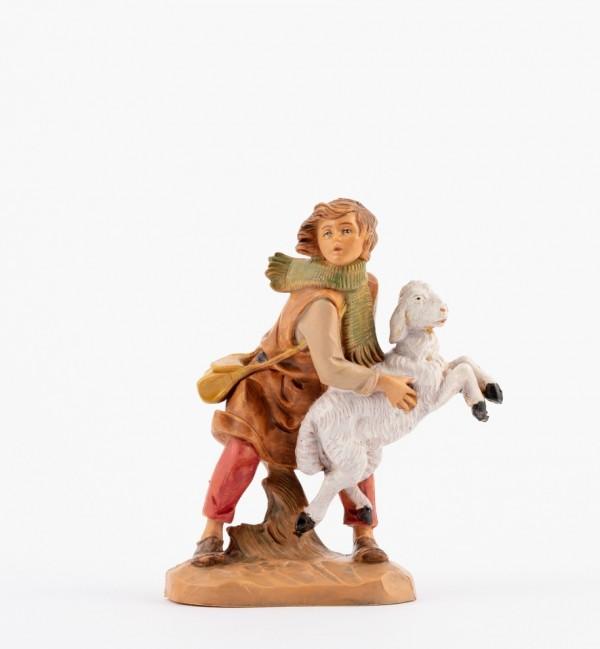 Shepherd (129B) for creche 12 cm.