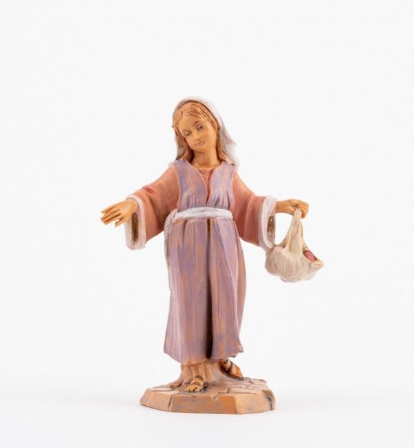 Shepherdess (134) for creche 12 cm.