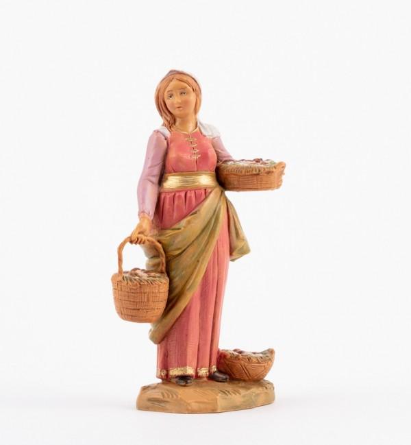 Shepherdess (138) for creche 12 cm.