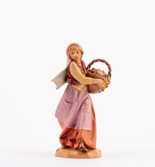 Shepherdess (147) for creche 12 cm.