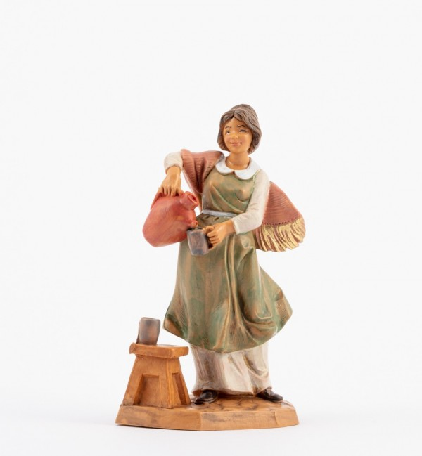 Shepherdess (157) for creche 12 cm.