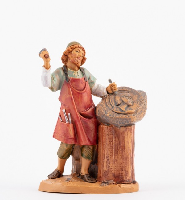 Shepherd (165) for creche 12 cm.