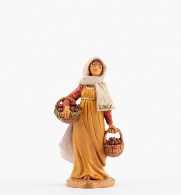 Shepherdess (166) for creche 12 cm.