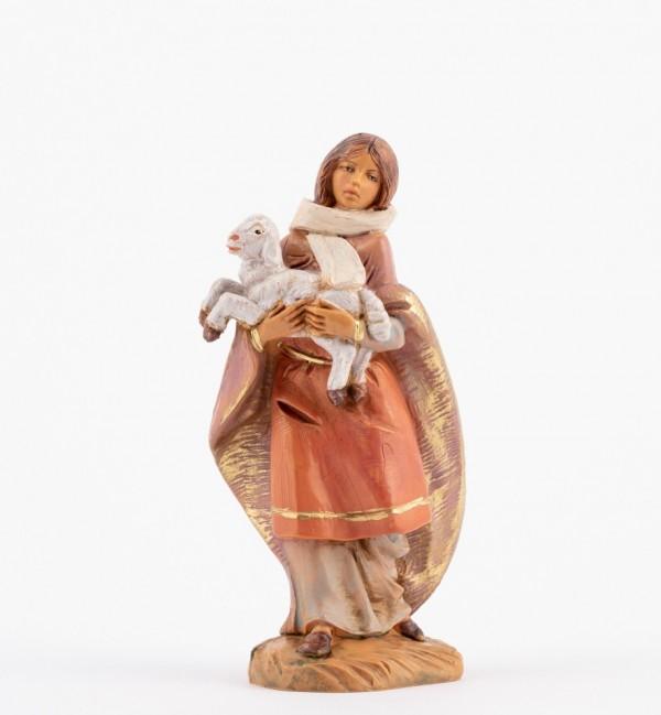 Shepherdess (193) for creche 12 cm.