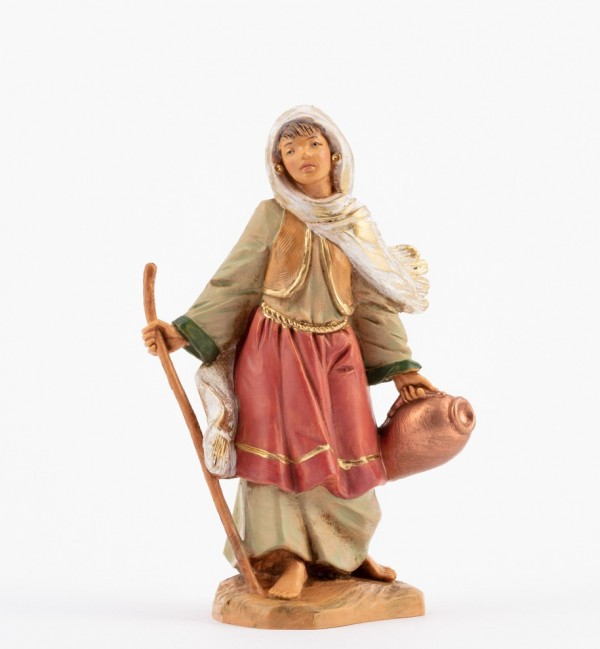 Shepherdess (194) for creche 12 cm.