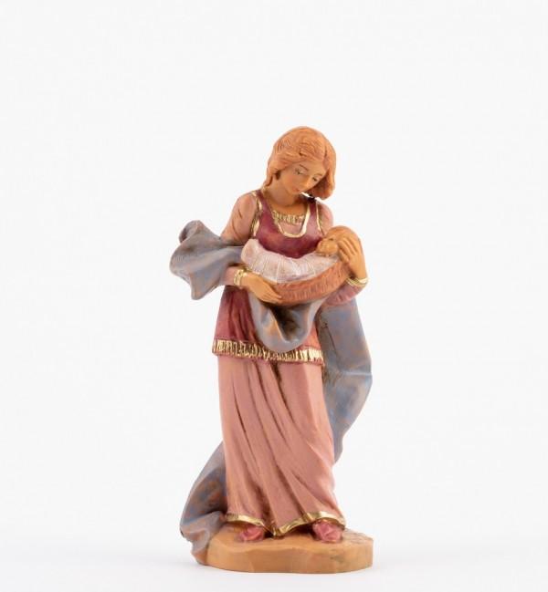 Shepherdess (198) for creche 12 cm.