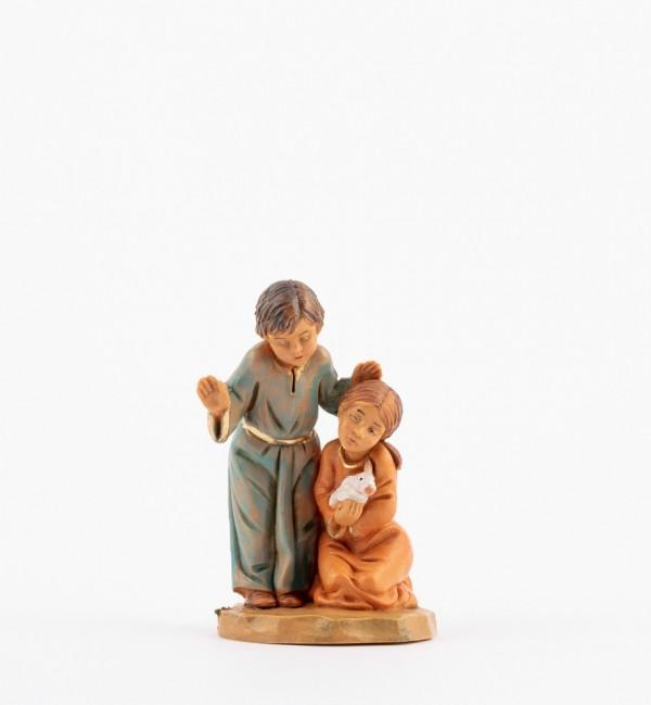 Shepherds (201) for creche 12 cm.