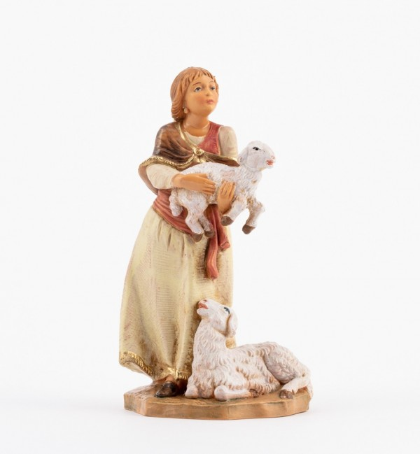 Shepherdess (239) for creche 12 cm.