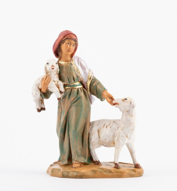 Shepherdess (242) for creche 12 cm.