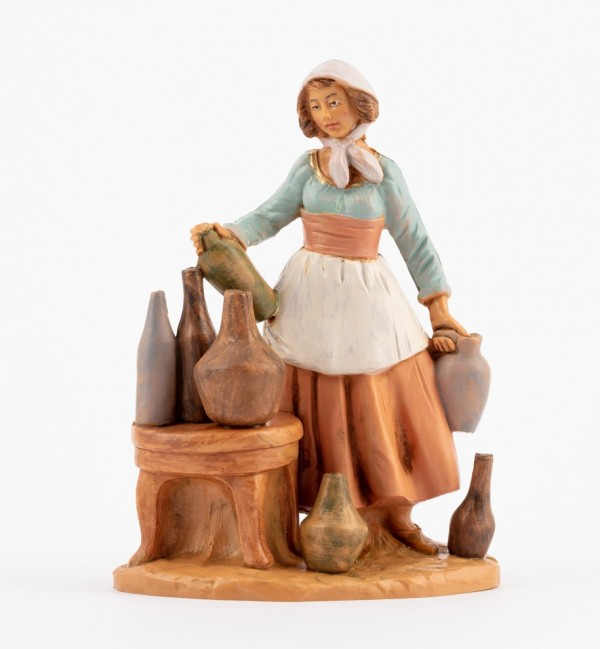 Shepherdess (256) for creche 12 cm.