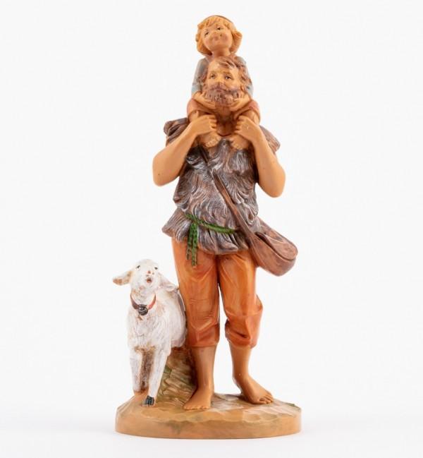 Shepherd (264) for creche 12 cm.