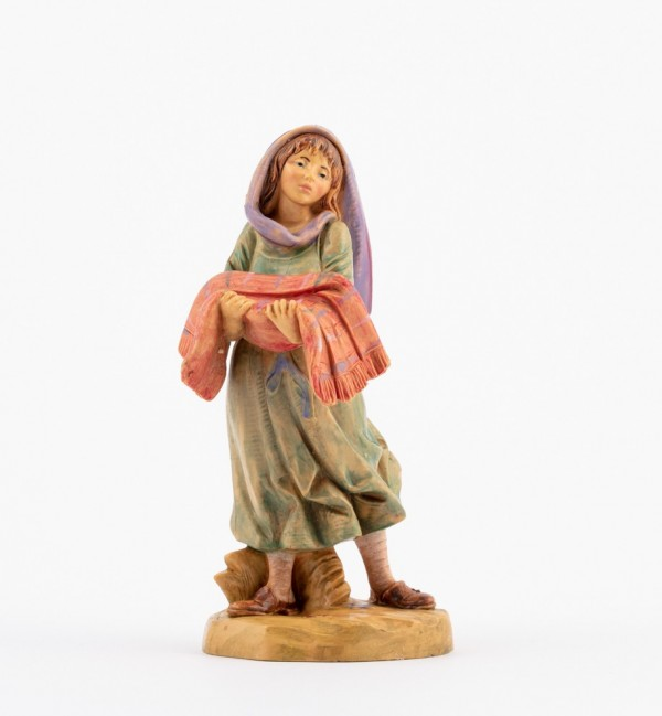 Shepherdess (267) for creche 12 cm.