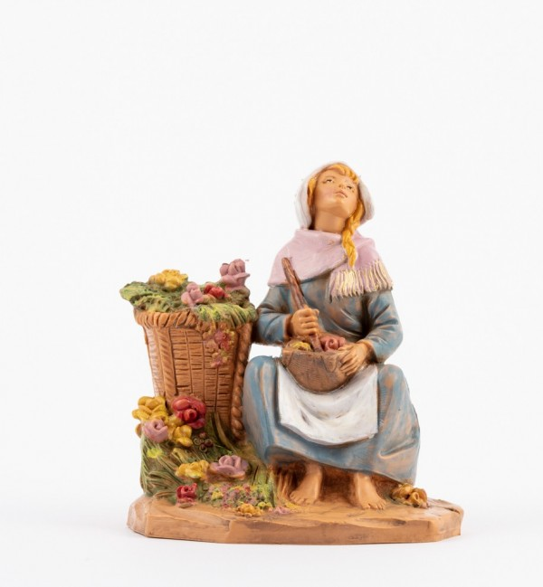 Shepherdess (271) for creche 12 cm.