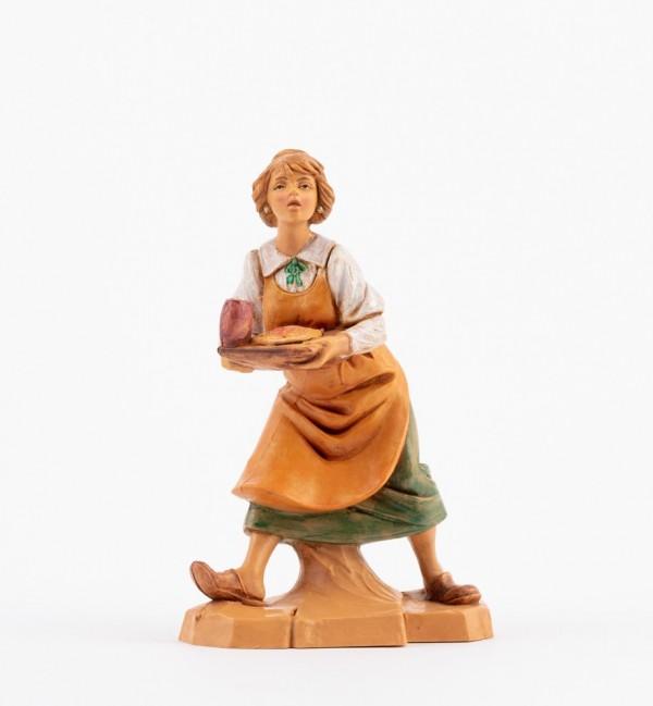 Shepherdess (282) for creche 12 cm.