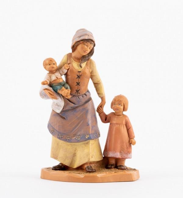 Shepherdesses (295) for creche 12 cm.