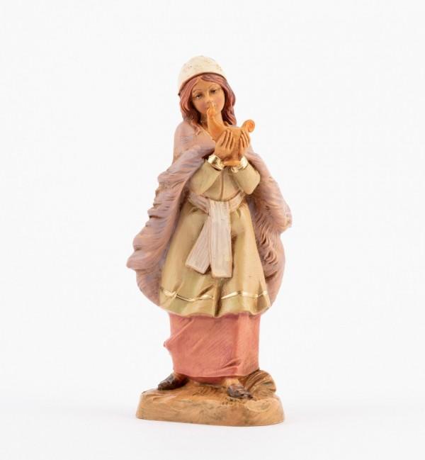 Shepherdess (298) for creche 12 cm.