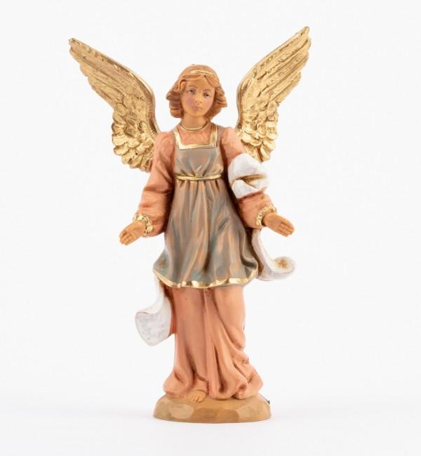 Standing angel for creche 12 cm.