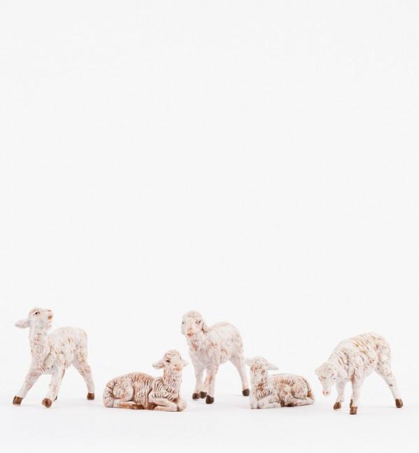 Sheep for creche 12 cm.