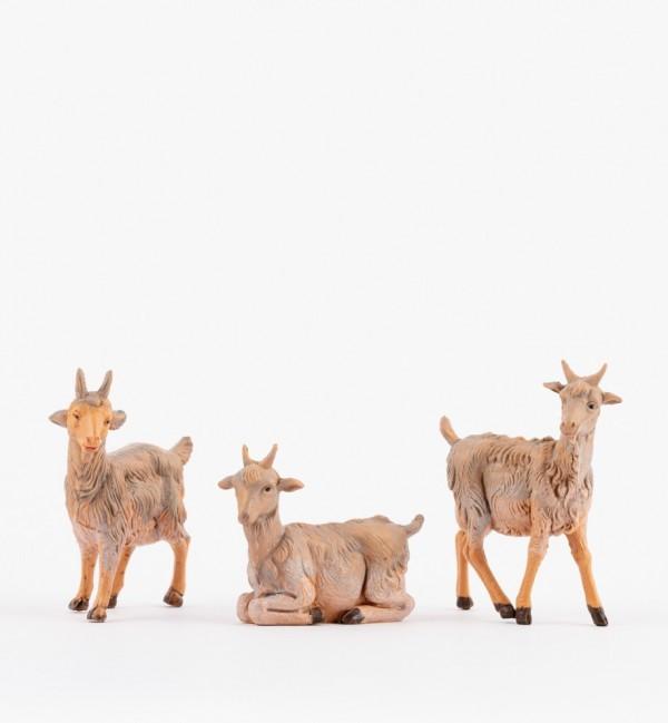 Goats for creche 12 cm