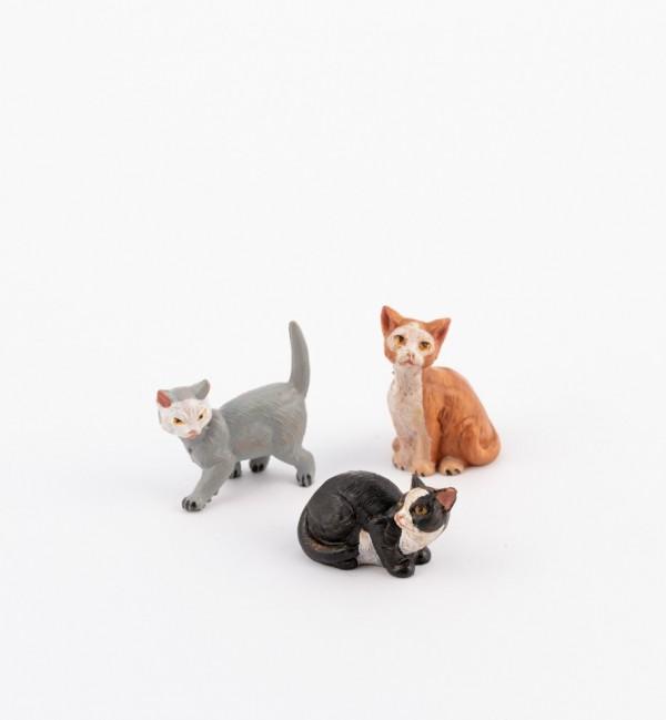 Cats for creche 12 cm.