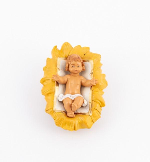 Child and crib for creche 17 cm.
