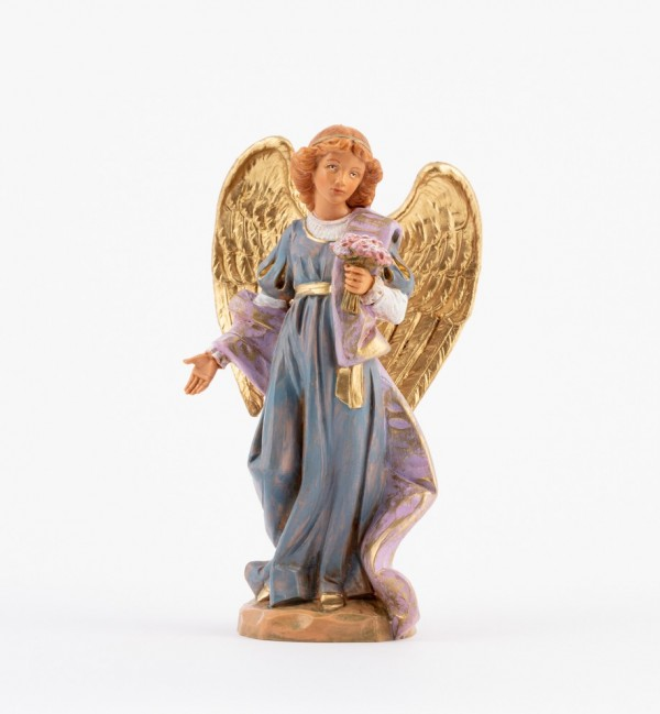 Standing angel for creche 17 cm.