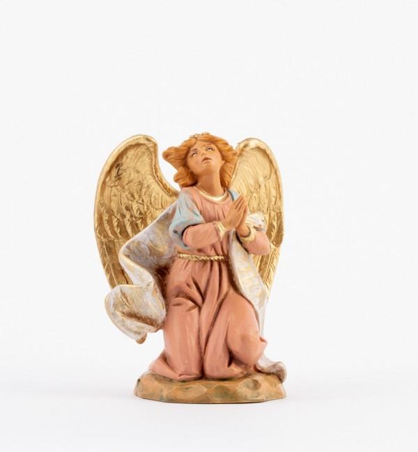 Kneeling angel for creche 17 cm.