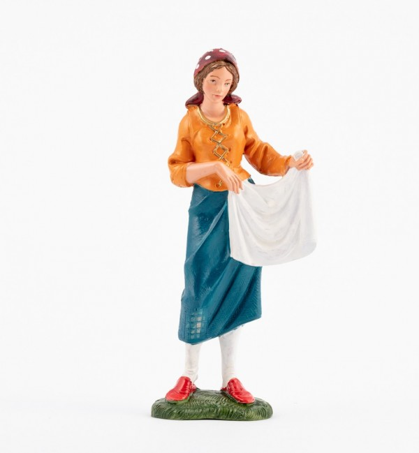 Shepherdess (328) for creche traditional colours 19 cm.