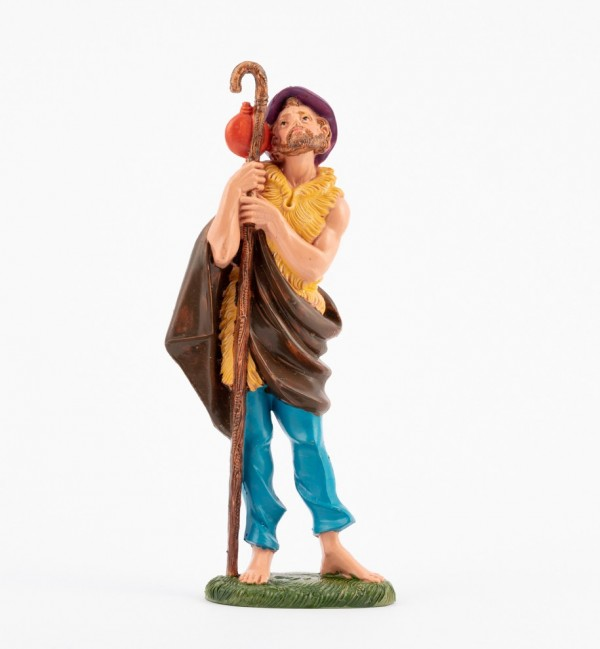 Shepherd (341) for creche traditional colours 19 cm.