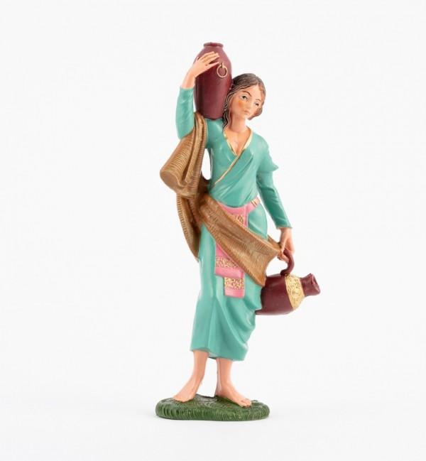 Shepherdess (345) for creche traditional colours 19 cm.