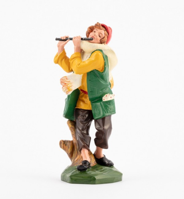 Shepherd (347) for creche traditional colours 19 cm.