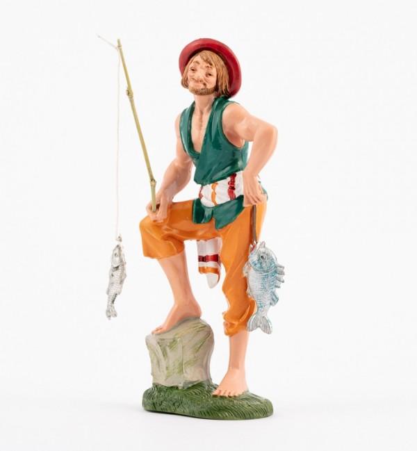 Shepherd (318V) for creche traditional colours 19 cm.
