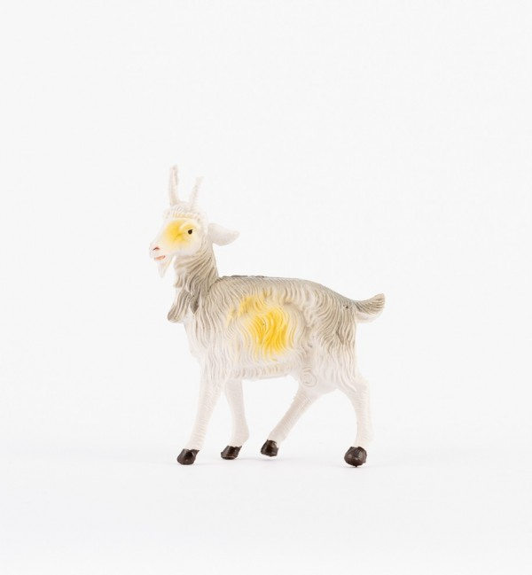 Goat for creche traditional colours 19 cm.