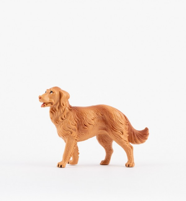 Dog for creche traditional colours 19 cm.