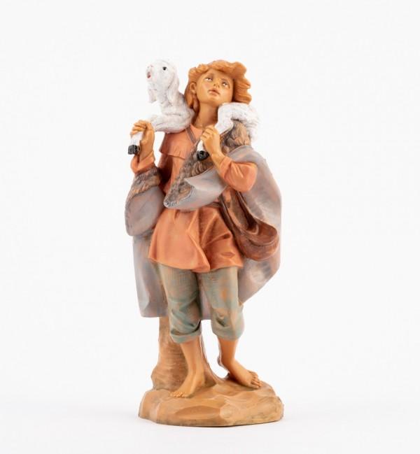 Shepherd (332) for creche 19 cm.