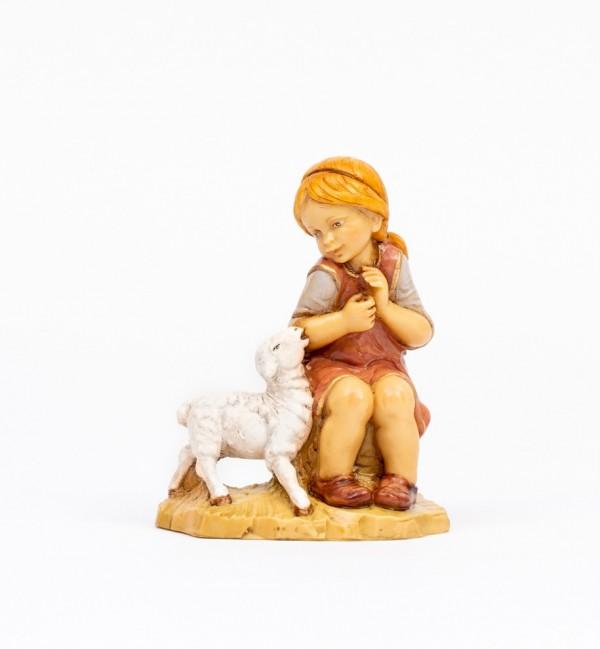 Shepherdess (51) for creche 30 cm.