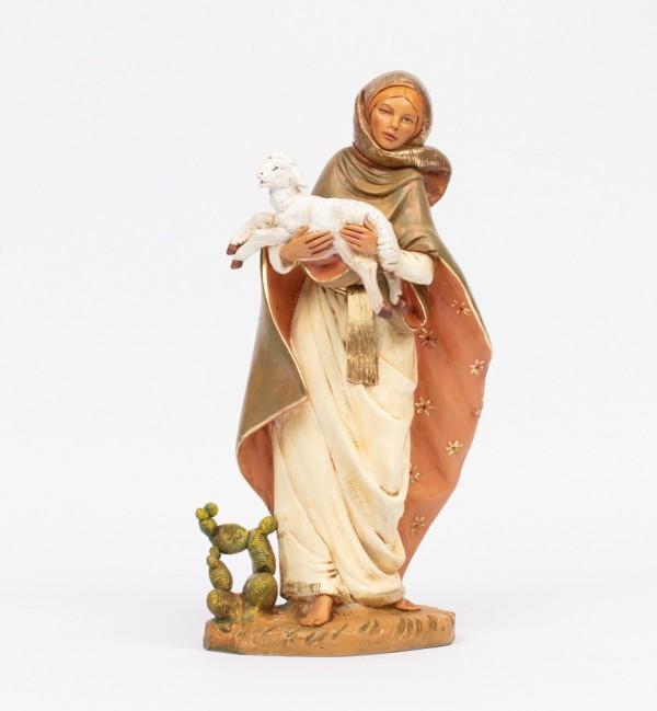Shepherdess (14) for creche 45 cm.