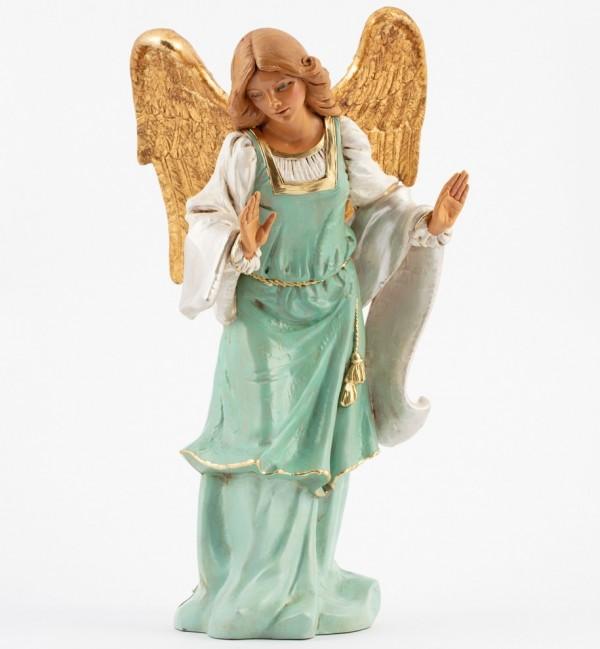 Standing angel for creche 45 cm.