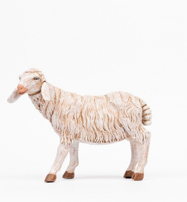 Standing sheep for creche 45 cm.