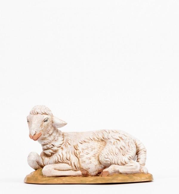 Sitting sheep for creche 45 cm.