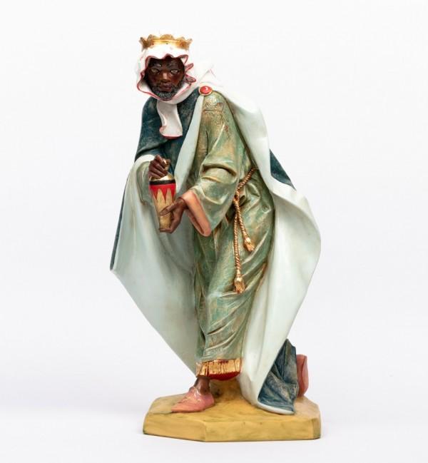 King (3) in resin for creche 65 cm.