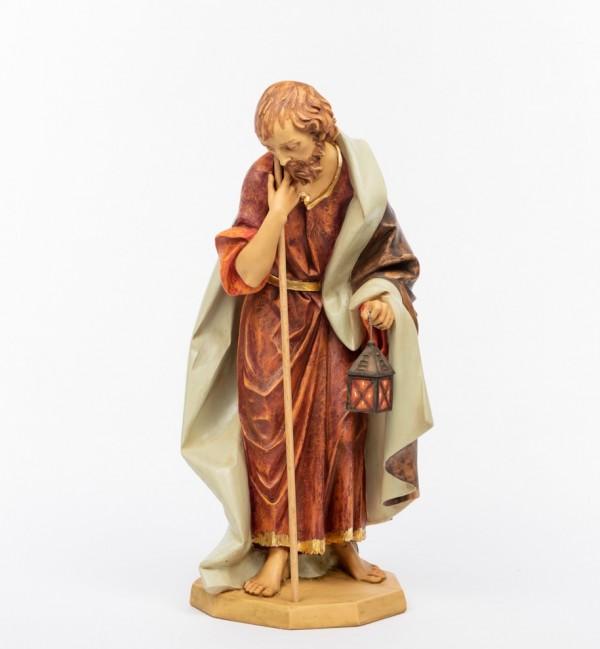 Saint Joseph in resin for creche 85 cm.
