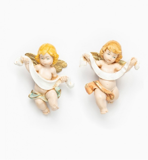 Angels with band (96-7) porcelain type 7 cm.