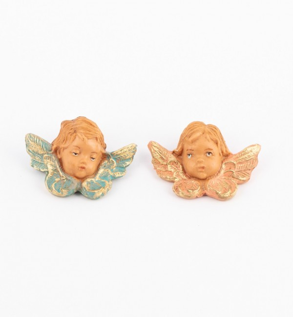 Angels heads (17D-17S) 4 cm.