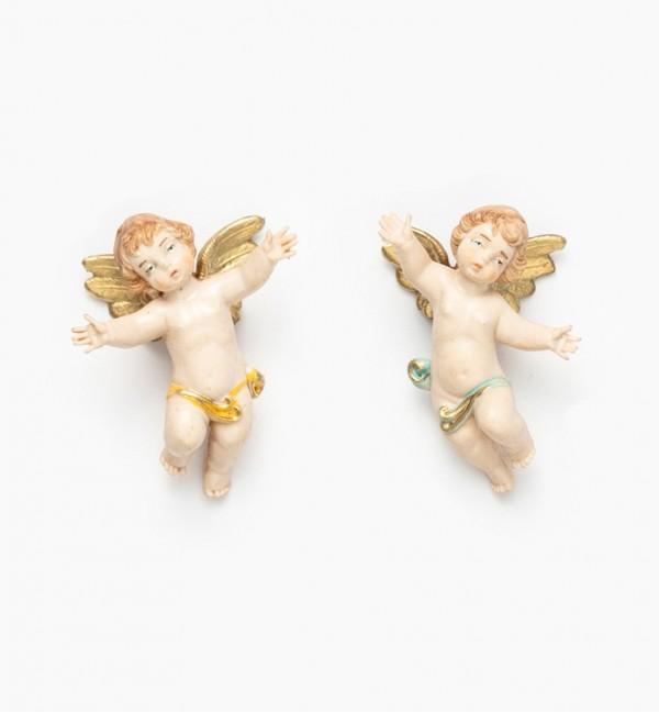 Flying angels (1-2) porcelain type 6 cm.
