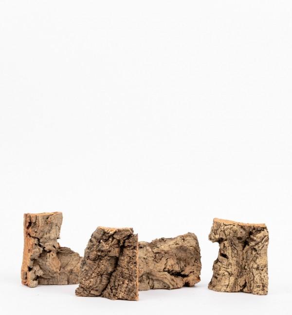 Pieces of cork in bag n.1217 (160 gr.)