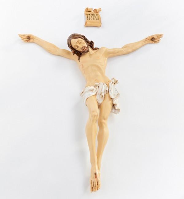 Resin body of Christ n.12 95 cm.