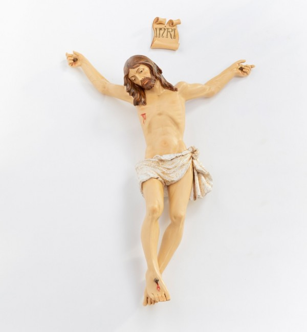 Resin body of Christ n.13 85 cm.