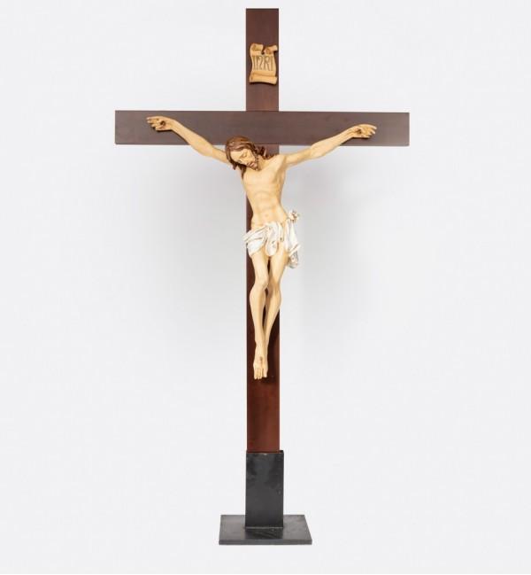 Crucifix n.12 200X115 cm.(Body of Christ in resin)