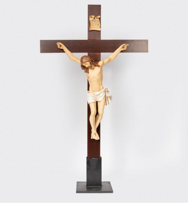 Crucifix n.13 180X105 cm.(Body of Christ in resin)
